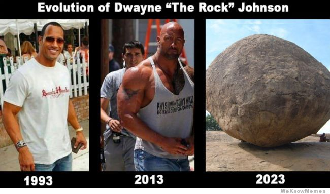 evolution of dwayne the rock johnson characteristics at dwayne johnson